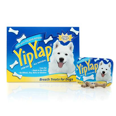 Chomp Presents Yip Yap Dog Candy Tin Display 12pc Chp Dsp. Yip Yap Dog Candy Tin Display 12pc [23179]