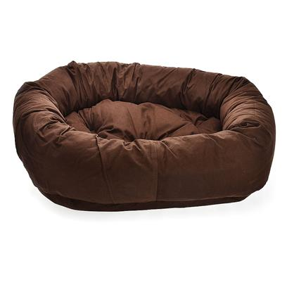 Dog Gone Smart Bed Co Presents Smart Bed Donut Brown Dg 35'. Dog Gone Smart Introduces Nano Technology to the Pet Industry. We Use Performance Fabric Finishes of Nanosphere and Activesilver that Keeps the Beds Clean and Kills Bacteria Naturally, as Well as Stands Up to the Wear and Tear of the Most Active Dogs. These Fabrics are Non-Toxic, Pet Safe and Environmentally Friendly. The Beds also Require Less Washings and Dries Faster than Traditional Fabrics. Dog Gone Smart Beds - Eliminate Odors - Repels Dirts and Liquids - Kills Bacteria and Viruses on Contact - Reduces Skin Allergies - Provides Comfort, Durability and Support. [23434]