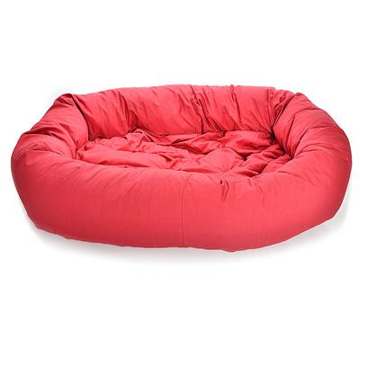 Dog Gone Smart Bed Co Presents Dog Gone Donut Bed-Red Dg Smart Bed 35' Red. Seeing your Dog Happily Curled Up in a Bed Meant just for Him is a Lovely Feeling. Dog Gone Beds are Made of 100% Cotton Canvas so they're Unbelievably Soft and Comfortable for your Dog. Bolstered Sides Give a Sense of Security and Protection Creating a Den-Like Atmosphere which Helps Promote Sound Sleep. Dog Gone Smart Uses Performance Fabric Finishes of Nanosphere and Activesilver that Keep the Beds Clean and Kill Bacteria Naturally; and it Stands Up to the Wear and Tear of the Most Active Dogs. The Fabrics are Non-Toxic, Pet Safe, and Environmentally Friendly. They also Require Fewer Washings and Dry Faster than Traditional Fabrics. They Even Repel Dirt and Liquids and Eliminate Odors. [23443]