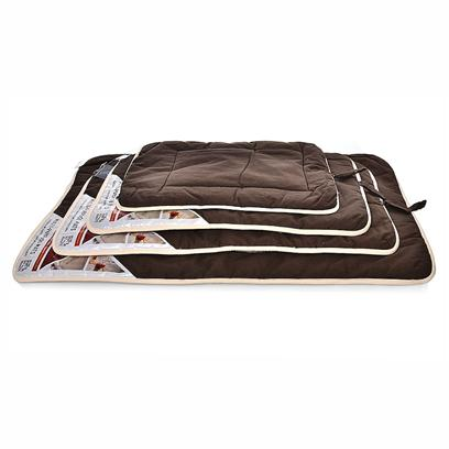 "Dog Gone Smart Bed Co Presents Dog Gone Smart Crate Pad Sherpa-Brown Small. Dog Gone Smart™ is Proud to Introduce Nanotechnology to the Pet Industry. We have Developed the Most Technologically Advanced Dog Bed on the Market. Dog Gone Smart Technology™ Uses the Performance Fabric Finishes Nanosphere and a State-of-the-Art Bacteriostatic. These Beds Stay Clean Naturally, Reduce the Spread of Bacteria and Stand Up to the Wear and Tear of the Most Active Dog. These Fabrics are Non-Toxic, Pet Safe and Environmentally Friendly. The Nanosphere Finish Even Carries the Label Bluesign Approved. Extremely Resistant to Liquids, Dirt and Coat Oil. Protective Finish Remains Functional Even After 50 Washing Cycles. Reduces the Spread of Bacteria which can Cause ""Doggie"" Odor as Well as Bacterial Infections and Allergies, Creating a Healthier Environment for your Dog. Highly Abrasion Resistant and Durable, our Beds will Last Longer Saving you Time and Money. 15"" X 19"" [23475]"
