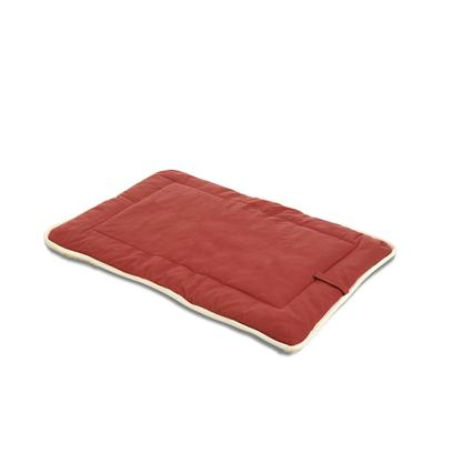 Dog Gone Smart Bed Co Presents Dog Gone Smart Crate Pad Sherpa-Red Large. Dog Gone Smart is Proud to Introduce Nanotechnology to the Pet Industry. We have Developed the Most Technologically Advanced Dog Bed on the Market. Dog Gone Smart Technology Uses the Performance Fabric Finishes Nanosphere and a State-of-the-Art Bacteriostatic. These Beds Stay Clean Naturally, Reduce the Spread of Bacteria and Stand Up to the Wear and Tear of the Most Active Dog. These Fabrics are Non-Toxic, Pet Safe and Environmentally Friendly. The Nanosphere Finish Even Carries the Label Bluesign Approved. Extremely Resistant to Liquids, Dirt and Coat Oil. Protective Finish Remains Functional Even After 50 Washing Cycles. Reduces the Spread of Bacteria which can Cause Doggie Odor as Well as Bacterial Infections and Allergies, Creating a Healthier Environment for your Dog. Highly Abrasion Resistant and Durable, our Beds will Last Longer Saving you Time and Money. Red Xsmall 15x20 [23493]