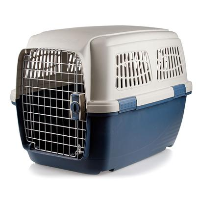 Marchioro Usa Presents Marchioro Clipper Cayman Pet Carrier 6 Carrier-Blue. A Pet Crate Serves Many Purposes, and you Want One that's Durable and Built to Last! MarchioroS Clipper Cayman Pet Carrier is Perfect for Training, Housing, and Transporting your Beloved Pet, and itS Made with Heavy-Duty Plastic for a Lifetime of Use. This Crate is also Extra Safe, with a Spring-Latch Door that Stays Closed but Opens Easily when you Want it To. Side Latches and Pins Provide Additional Security, so you WonT have to Worry About your Pet Getting Loose. This Easy to Disassemble Carrier Meets Airline Standards, and itS Available with a Number of Accessories to Make Traveling Easier, Including Wheels, a Shoulder-Strap, a Water Bottle, and a no-Spill Cup. [23541]