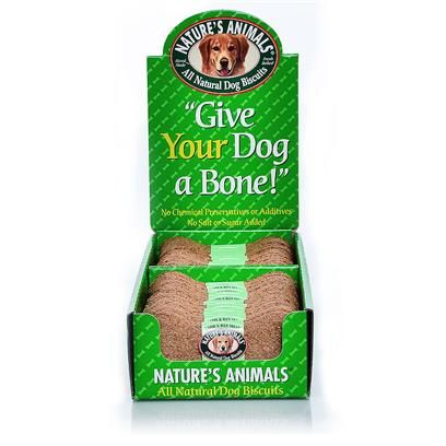 Buy Nature's Animals Display for Dogs products including Chicken Biscuits 8' - 24pc Display Box 4' 24piece, Chicken Biscuits 8' - 24pc Display Box 24piece, Nature's Animals Display 4' - 24 Pieces, Nature's Animals Lamb &amp; Rice Biscuits-24pc Display Box 4', Nature's Animals Display 8' - 24 Pieces Category:Treats &amp; Biscuits Price: from $16.99