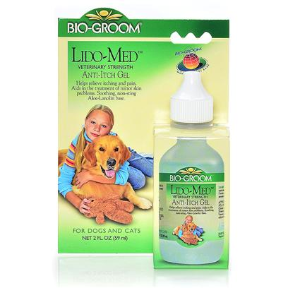 Bio Groom Presents Lido-Med Anti-Itch Gel 2oz. This Veterinary Formula is Guaranteed not to Sting. It Provides Fast, Soothing Relief of Allergic Problems Associated with Flea Bites. It will also Help Discourage Licking and Wound Biting. [23653]