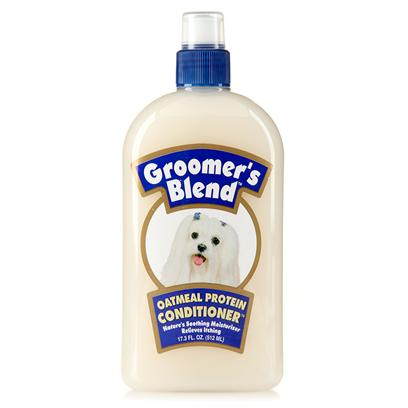 Synergy Labs Presents Groomers Blend Oatmeal Conditioner 17oz. Helps Sooth Skin Irritations, Relives Itching, Moisturizes, and Deodorizes. Nature's Soothing Moisturizer that is Proven to Help Heal Skin Irritations Faster. Contains Oatmeal Protein Proven to Help Heal Skin Irritations Faster Relieves Itching of Dry, Irritated Skin Provides Natural Moisturizer and Anti-Itch Agent Soothes Skin and Helps to Calm the Sting of Insect Bites [23692]