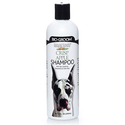Bio Groom Presents Bio-Groom Crisp Apple Shampoo 12oz. Bio-Groom Natural Scents Shampoos are Presented as our Invitation to Come Grow with Us. Created to Stir the Senses, Bio Groom Natural Scents Captivate by Sight, Smell and Experience! Our Bottles Enchant and Catch the Eye. Made from Natural Ingredients with Added Chamomile and Aloe Vera, Shampoos are Mild and Soap Free. They Clean Thoroughly and Rinse Effortlessly Leaving the Coat Soft, Shiny, and with a Natural, Clean Exciting Scent. [23698]