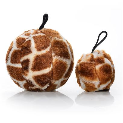 Petmate Presents Booda Skins Giraffe Print Ball Small. Your Dog Won't be Able to Resist Chomping on Booda Skins. These Wild, Plush Toys are Available in the Two Best Selling Dog Toy Shapes Bones and Balls! These Fun Toys Come in Animal Patterns and can be Tossed, Rolled or Squeezed to Entertain your Dog for Hours. [23731]