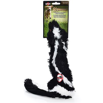 Buy Skinneeez Plush Skunk for Dogs products including Skinneeez Plush Skunk 24' Spot, Skinneeez Plush Skunk Mini 15' Spot Plsh Category:Chew Toys Price: from $5.99