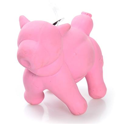 Charming Presents Charming Pet-Balloon Pig Balloon. The Charming Balloon Dog Toys Make Fun Toys for any Dog. Available in a Dudley the Dog, Baxter the Bull, Pearl the Pig, and Hazel the Horse. Made of all-Natural Latex and Contains no Lead. Each Animal has a Squeaker Inside for More Fun. [23770]