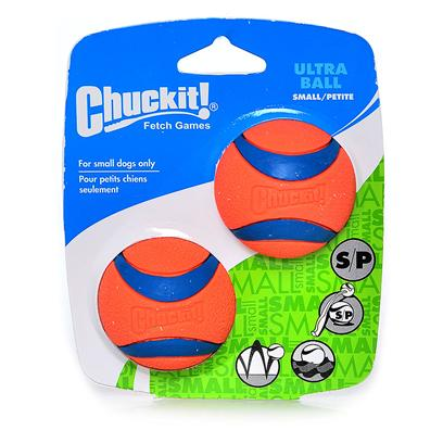 Canine Hardware Presents Chuckit Ultra Ball 2-Pack Small-2 Pack. Along with the Chuckit Ball Launcher, the Game of Fetch has been Taken to a Whole Other Level. With its High Bounce, Ability to Float, Bright Color and Durability, Trips to the Park are Now just as Fun for Parent's as they are for Pets! Available in a 2 Pack. [23790]