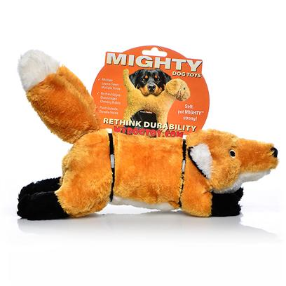 Tuffy's Presents Tuffy's Mighty Toy Nature-Foxy Fox Chew Tuffys Foxy. Oh so Soft and Cute! Foxy will out-Wit and out-Last Many Other Toys and will Certainly be a Fan Favorite. [23874]