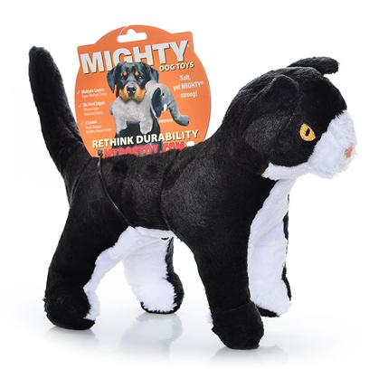 Tuffy's Presents Tuffy's Mighty Toy Farm-Ginger Mcfluff Cat Chew Tuffys Ginger. A Purrrfect Playmate for your Precious Pooch! Ginger is a Strong yet Tender Kitty who Wants to be your Dog's Best Friend. [23876]