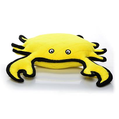 Tuffy's Presents Tuffy's Sea Creature King Crab Chew Toy Tuffys. King Crab- this Soft-Shell Crab has what it Takes to Keep your Dog Coming Back for More. Fun to Fetch, Tug and Whip Around at your Dog's Leisure. [23891]