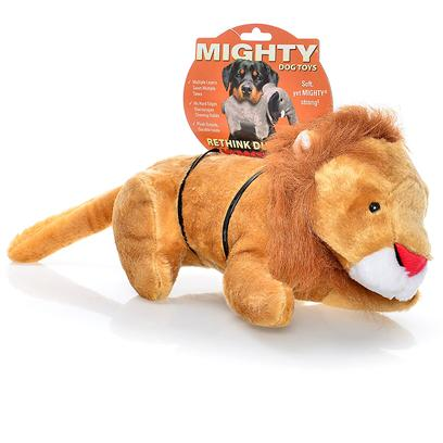 Tuffy's Presents Tuffy's Mighty Toy Safari-Linus Lion Chew Tuffys Linus. Make the King of the Jungle the King of your Living Room! Your Pup will Love the Rivalry Linus Brings to your Home! [23895]