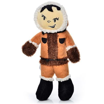 "Tuffy's Presents Tuffy's Mighty Artic Jr Eskimo-Mukmuk Tuffys Eskimo. Herb Jr. - Bring out the ""Wild"" in your Animal with Herb Hippo! He may Look Cute, but He's Fiercely Strong and Capable of Holding his Own Against your Wild Canine!! [23908]"