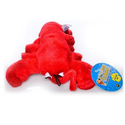 Multipet Presents Multipet Look Whos Talking Lobster 7.5' Mp Talkin 7'. More than your Run of the Mill Plush Toys, this Cute Lobster Talks when your Pet Squeezes Them. [23949]