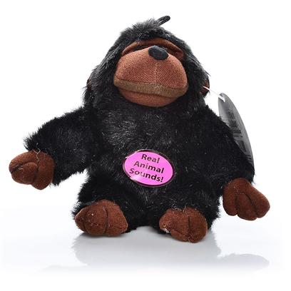 Multipet Presents Multipet Look Whos Talking Chimp 5'. More than your Run of the Mill Plush Toys, this Cute Chimpanzee Talks when your Pet Squeezes Them. [23951]