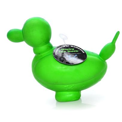 Charming Presents Charming Pet-Balloon Duck Small. Charming's Fun and Whimsical Balloon Collection has just Popped Up! These Bright, all Natural Latex Toys will Show Canines that Balloons Aren't just for Parties Anymore! [24018]