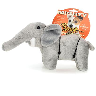 Tuffy's Presents Tuffy's Mighty Safari Jr Elephant-Ellie Tuffys Mghty Elphnt. Ellie Jr. - a Mighty Elephant Makes an Excellent Companion for your Mighty Pooch! Ellie Plays a Great Game of &quot;Tug&quot; and is Oh-so-Snuggly at Night. 9x 3x 4 [24064]