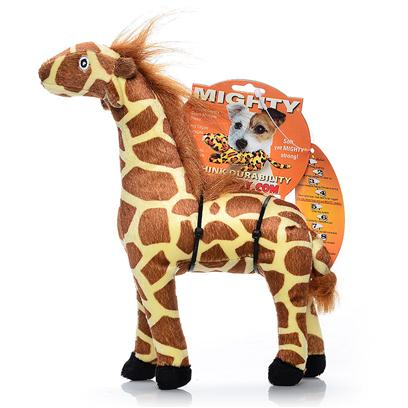 Tuffy's Presents Tuffy's Mighty Safari Jr Giraffe-Gina Tuffys Mghty Giraffe. Gina Jr. - a Perfect Pal for a Game of Tug, Gina will Withstand Tough Play from your Active Friend! 5x 2x 7 [24065]