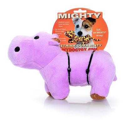 "Tuffy's Presents Tuffy's Mighty Safari Jr Hippo-Herb Tuffys Mghty Hippo. Herb Jr. - Bring out the ""Wild"" in your Animal with Herb Hippo! He may Look Cute, but He's Fiercely Strong and Capable of Holding his Own Against your Wild Canine!! [24066]"