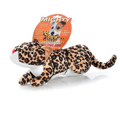Tuffy's Presents Tuffy's Mighty Safari Jr Leonard-Lenny Tuffys Mghty Leopard. Lenny Jr. - when your Pooch Adopts this Leopard Cub, They'll have a Friend for Life! During Sleep or Play, Lenny will be There!! 11x 2x 3 [24067]