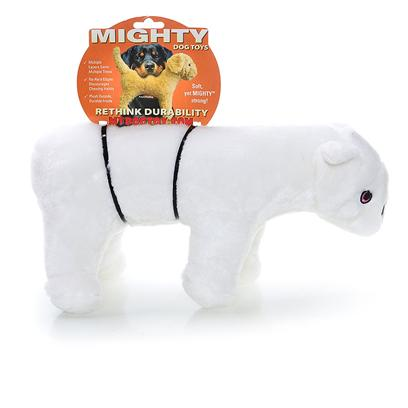 Tuffy's Presents Tuffy's Mighty Artic Wilburr Mcpaw Tuffys. Wilburr Mcpaw - is a Strong and Chilly Companion that will Please any Pooch! 15x 5x 8 [24072]