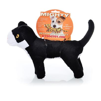 Tuffy's Presents Tuffy's Mighty Farm Cat-Giner Mcfluff Tuffys Jr Cat. Ginger Jr. - a Purrrfect Playmate for your Precious Pooch! Ginger is a Strong yet Tender Kitty who Wants to be your Dog's Best Friend. [24073]