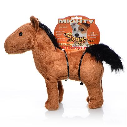 Tuffy's Presents Tuffy's Mighty Farm Horse-Haydin Tuffys Jr Horse. Haydin Jr. - don't Let the Majestic Beauty of Haydin Throw you off - He's Stronger than Most and can Play all Day! 9x 6x 3 [24077]