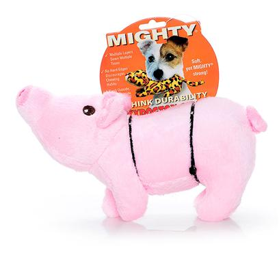 Tuffy's Presents Tuffy's Mighty Farm Piglet-Paisley Tuffys Jr Piglet. Paisley Jr. - Feel Free to Wallow in the Mud with this Cute Little Guy - he can Take It! Your Pup will Love Paisley Piglet! [24078]