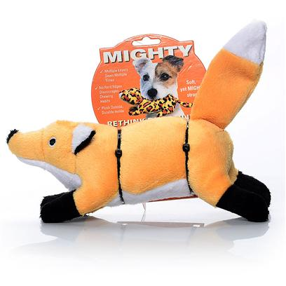 Tuffy's Presents Tuffy's Mighty Nature Fox-Foxy Tuffys Fox. Fox - Oh so Soft and Cute! Foxy will out-Wit and out-Last Many Other Toys and will Certainly be a Fan Favorite. 15x 4x 4 [24082]