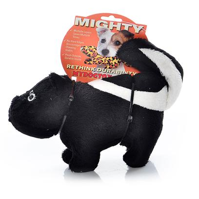 Tuffy's Presents Tuffy's Mighty Nature Skunk-Stinky Tuffys Skunk. Stinky - this is One Skunk your Dog will Love Getting Close To! Stinky is a Soft and Cuddly Skunk who can Take the Ruff-and-Tumble of any Pooch! 16x 4x 6 [24086]