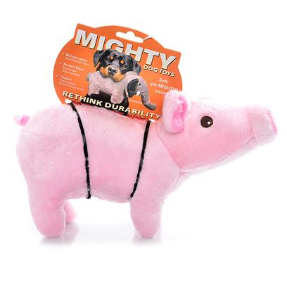 Tuffy's Presents Tuffy's Mighty Toy Farm-Paisley Piglet Chew Tuffys Paisley. Feel Free to Wallow in the Mud with this Cute Little Guy - he can Take It! Your Pup will Love Paisley Piglet! [24100]