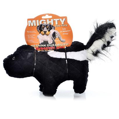 Tuffy's Presents Tuffy's Mighty Toy Nature-Stinky Skunk Chew Tuffys Stinky. This is One Skunk your Dog will Love Getting Close To! Stinky is a Soft and Cuddly Skunk who can Take the Ruff-and-Tumble of any Pooch! [24123]