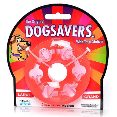 Mammoth Presents Dogsavers Stick Disk Small 2.5'. Mammoth Pet Products, are Ready for the Most Enthusiastic Fetchers Around. These Toys are Bright Candy-Colored and Candy-Scented. Dogsavers Super-Durable, Synthetic Rubber Stick is Shaped into a Flexible Cylinder that is Easy to Throw and Easy for Dogs to Catch and Pick Up. This Dogsavers Stick is Best for Interactive Play and Training, not Chewing. Medium 3.5&quot; [24157]