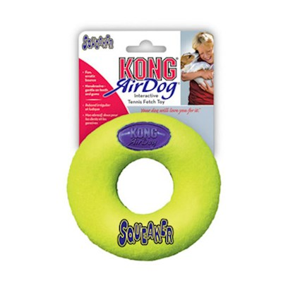 Kong Company Presents Air Kong Squeaker Donut Small Asd3. Air Kong Squeaker Donut Small [24162]
