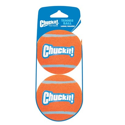 Canine Hardware Presents Chuckit Tennis Ball Mini 2' - 2 Pack. High Quality Tennis Balls Designed Especially for Small Dogs. Compatible with the Mini Ball Launcher. Available in a 2 Pack. [24172]