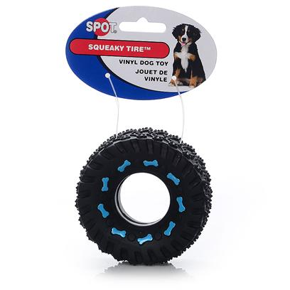 Ethical Presents Vinyl Squeaky Tire 6' Spot 3.5'. Vinyl Squeaky Tire 6&quot; Tons of Squeaky Fun, Great Vinyl Texture. [24194]