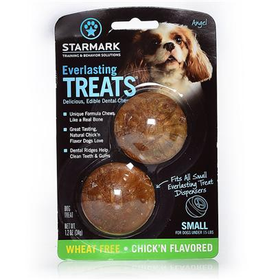Triple Crown Presents Everlasting Treat Ball Treats-Veggie Chicken Small. - [24221]