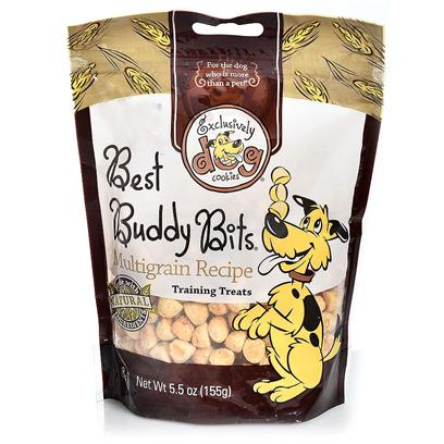 Exclusively Pets Presents Beef/Liver Buddy Bits 5.5oz. Crunchy Round Bits. Great for Training Treats. These Popular Treats Come in Chicken, Cheese, Peanut Butter, Beef / Liver and Turkey Flavors. 5.5 Oz [24254]