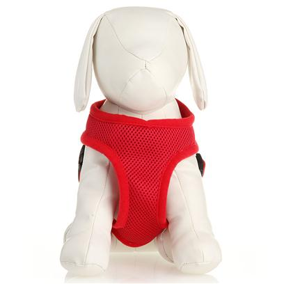 Coastal Presents X-Small Comfort Soft Harness-3/4' Red. Comfortable, Soft Mesh Walking Harness. Specifically Designed for Toy Breeds &amp; Small Dogs. Mesh Material Distributes Leash Pressure Across Neck and Shoulders. Adjusts for a Perfect Fit. Lightweight &amp; Fashionable with Breathable Mesh. [24279]