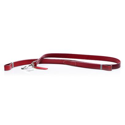 Coastal Presents Leather Oak Tanned Lead-Red 5/8' X 6ft. Oak Tanned Leather is Full Grain, Top Quality Leather that has been Vegetable Tanned. The Tanning Process Uses Tree Bark to Form a Tanning Liquor Producing Excellent Leather Character. The Hides are then Aniline Dyed for Luxurious Color. Oak Tanned Leads are Expertly Made for Long Lasting Durability and Charm. [24346]