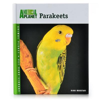 Nylabone Presents Animal Planet Parakeets-Hardcover Parakeets Book (Hardcover). The Parakeet has Become a Popular Companion Bird Known for Having the Ability to Speak. This Book Provides Information to Help Maintain the Health and Happiness of this Playful, Fun-to-Watch Pet. [24489]