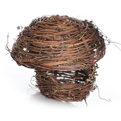 Prevue Presents Thatched Hut Bird Nest Ph. Bird Nest for Small Birds. [24564]