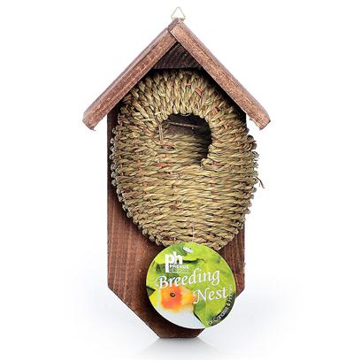 Prevue Presents Tree Mount Bird Nest/House Ph. Indoor/Outdoor Bird Nest. [24566]