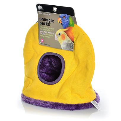 Prevue Presents Snuggle Sack Ph Small. Give your Pet a Cuddly Treat with our Jumbo Snuggle Sack. With a Wonderfully Soft Interior, it Provides the Perfect Place to Play, Hide, or Sleep Away a Lazy Afternoon. Available in Red, Green, or Blue with a Contrasting Trim. Measures 9'l X 12'd X 11'h. [24585]