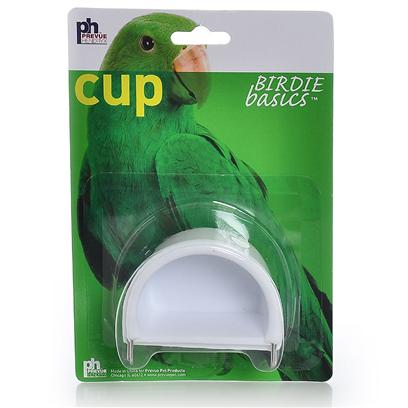 Prevue Presents Cup-Univ Hanging-2 Pack Small. Features a Universal Fit for all Small-Medium Bird Cage Models. Available in 2pks in Assorted Colors. [24784]