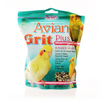 Buy Avian Plus products including Avian Plus 1oz, Avian Grit Premium Bird Gravel 20oz Category:Bird Food Price: from $2.99