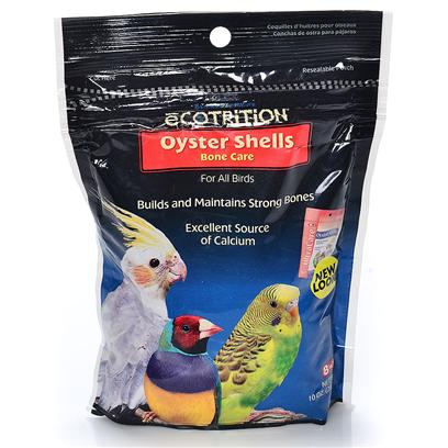 8 in 1 Presents Oyster Shells 7oz 13oz. Excellent Source of Calcium, Necessary for all Caged Birds. Aids in the Formation of Strong Bones and Firm Egg Shells. [24804]