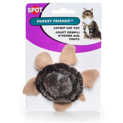 Ethical Presents Forest Friends W Nip Friend with Catnip. Cute Plush Animals Filled with Catnip. [26014]